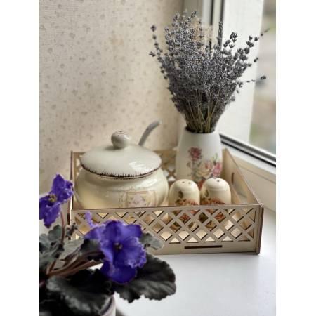 Поднос кухонный в орнамент