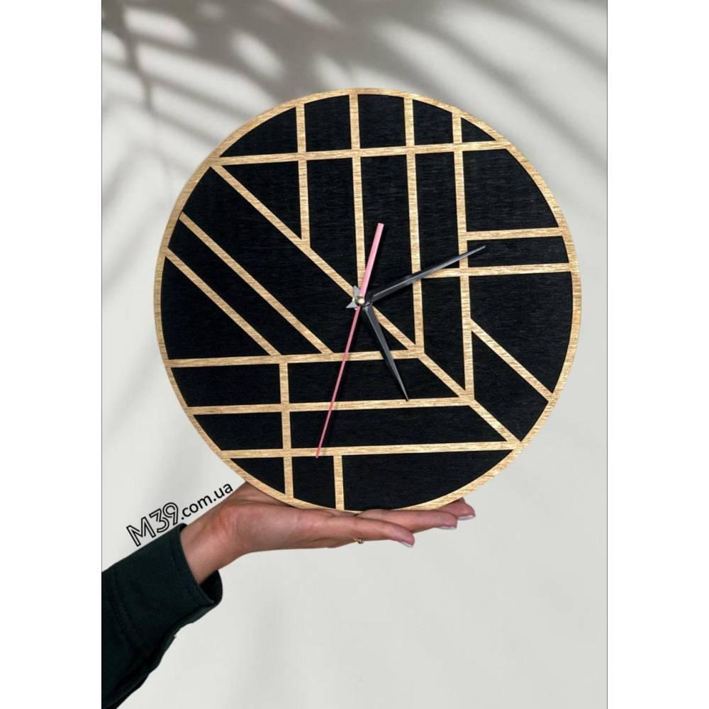 Интерьерные настенные часы (настенные часы) декоративные геометрия