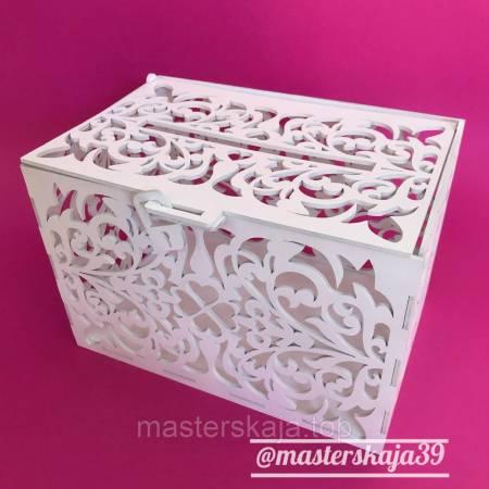 Коробка для денег цветочный принт
