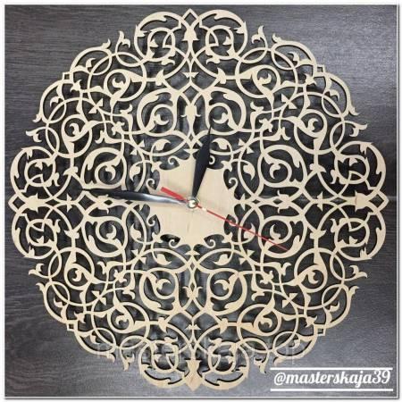 Интерьерные настенные часы (настінні годинники) декоративные ажурные