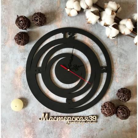Настенные часы «Круги абстрактные»